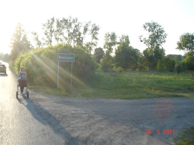 Wjazd do Malczyc