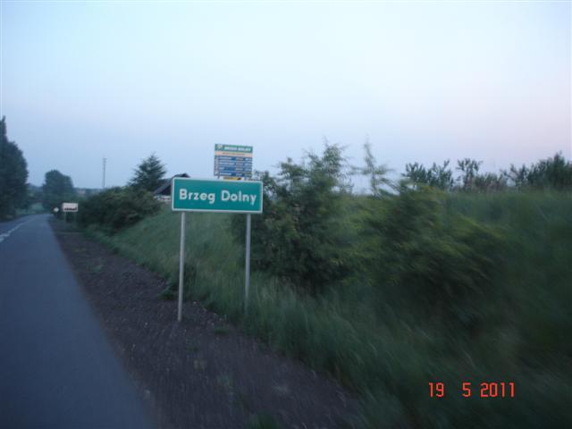Powrót do Wrocławia przez Brzeg Dolny