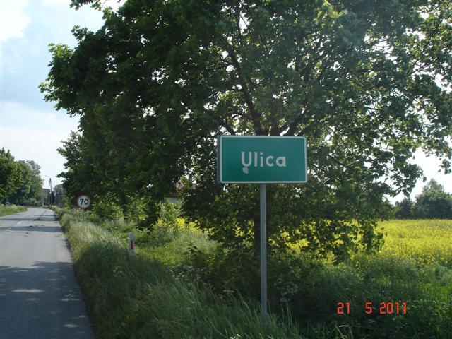 Ciekawa nazwa miejscowości: Ulica :)