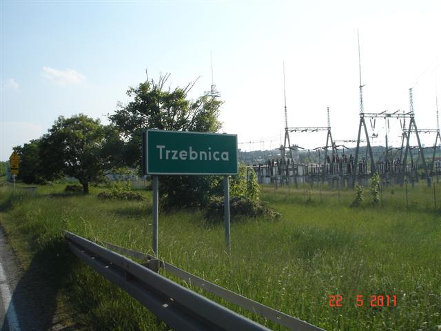 Wjazd do Trzebnicy