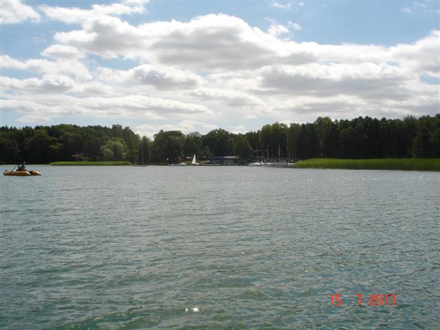 Jezioro Niesłysz w Niesulicach