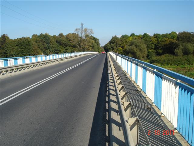 Most przez Odrę w Lubiążu