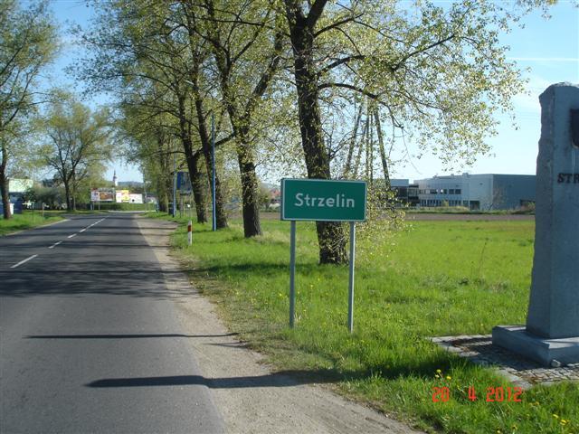 Wjazd do Strzelina