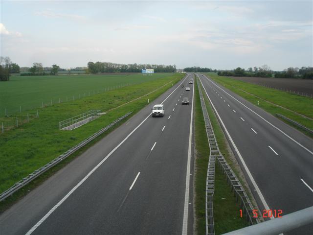 A4 przed Oławą