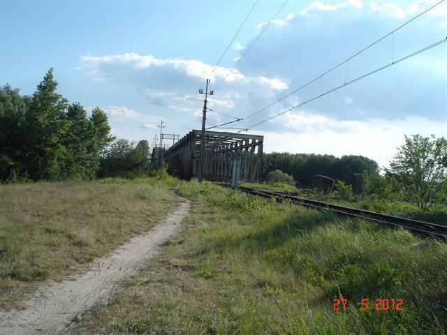 Most kolejowy przez Odrę