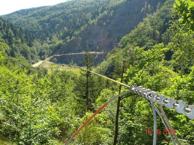 Lina rozciągnięta miedzy górami - robi wrażenie :)