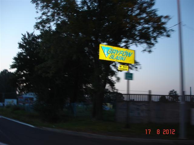 Wjazd do Gryfowa Śląskiego