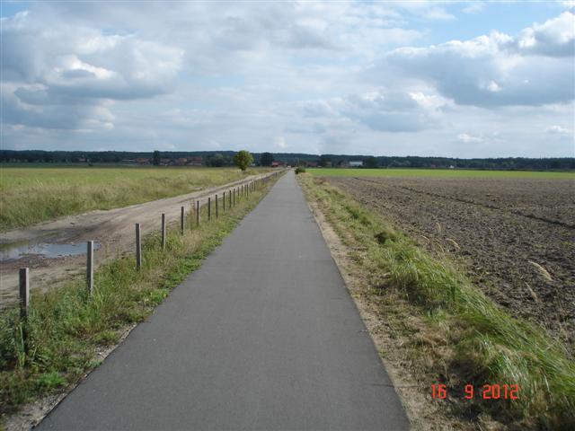 Cel naszej wyprawy - ścieżka Sułów-Milicz 20km