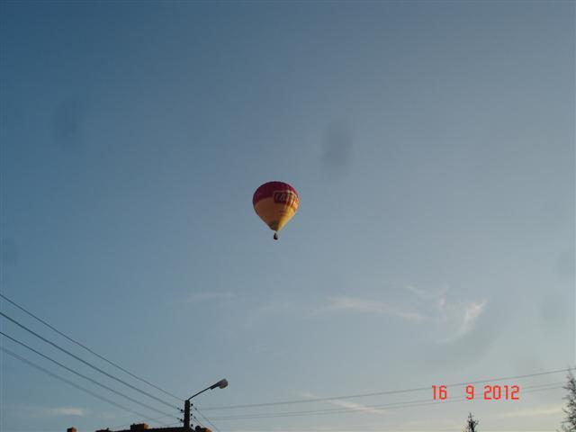 Pozdrowienia z balonu :)