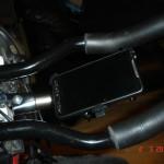 Uchwyt z zamocownaym HTC HD2
