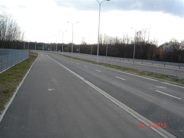 Wschodnia Obwodnica Wrocławia - ścieżka rowerowa