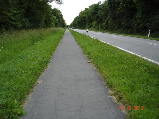 Ścieżka do Gernsheim