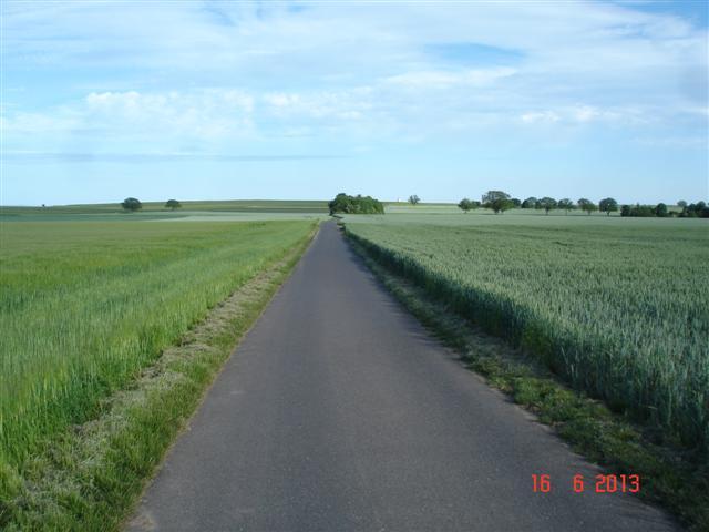 Ścieżka rowerowa aż po horyzont, Jesli ktoś pokaże mi coś takiego w Polsce - stawiam piwo ;)