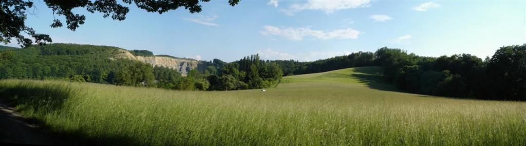 Panorama w okolicach Muehltal - kliknij, aby powiększyć