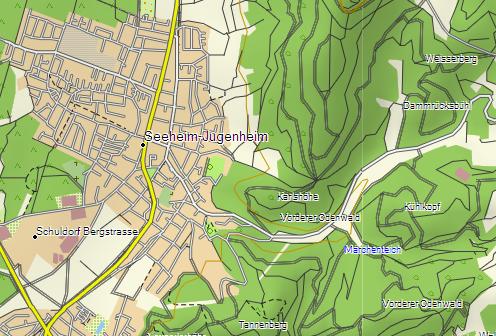 Garmin Topo Niemcy Pro 2012 – wygląd w Mapsource