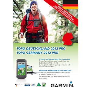 Garmin Topo Niemcy Pro 2012 – Cały kraj