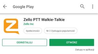 Ściągnij i zainstaluj aplikację Zello